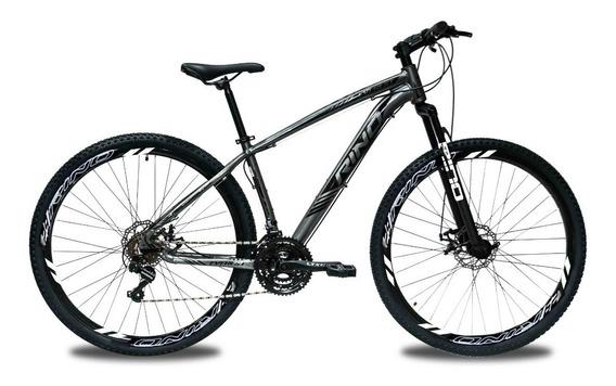 Bicicleta Rino Everest 29 Hidráulico Gts 24v Cambio Shimano
