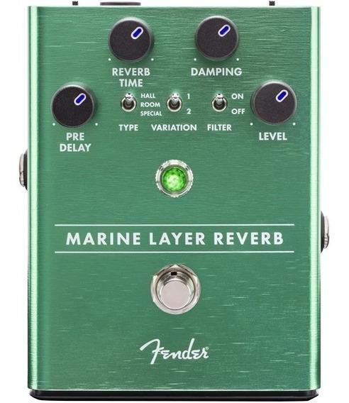 Pedal Fender Marine Layer Reverb + Nf E Garantia!