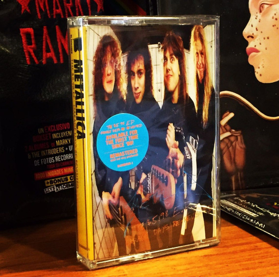 Cassette Metallica The Garage Days Ep Import En Stock