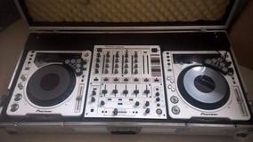 Cdj 800 Mk2 +mix Djm600 Pioneer Com Case