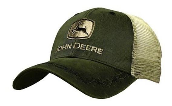 Cachucha John Deere 100 % Original Gorra Puas Modelo Lp68011