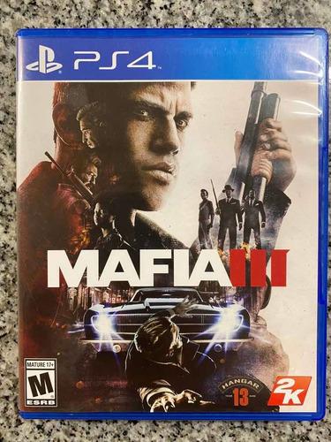 Mafia 3 Ps4 Físico Excelente Estado