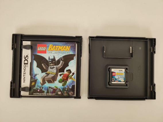 Batman The Videogame Nintendo Ds Nds 3ds 2ds + Manual
