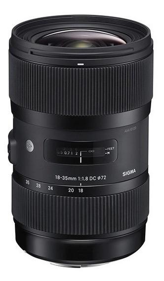 Lente Sigma 18-35mm F1.8 Dc Hsm Art Para Nikon