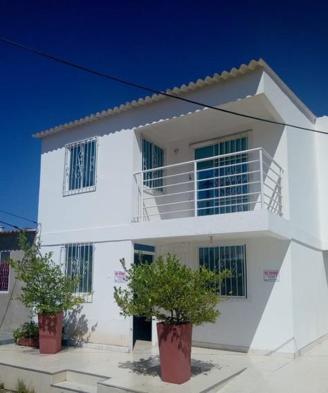 Casa De 2 Pisos Bien Ubicada En Turbaco Bolívar (bonanza)