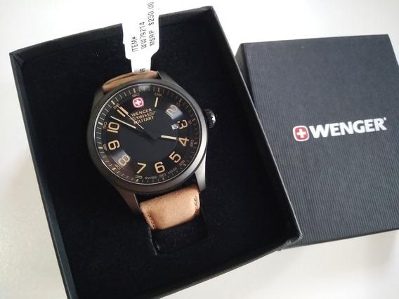 Relógio Suíço Wenger *de Mostruário Na Caixa E Com Etiqueta