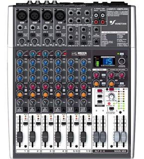 Consola Mixer Xenyx Venetian X1204 Usb 6 Canales Efectos Cjf