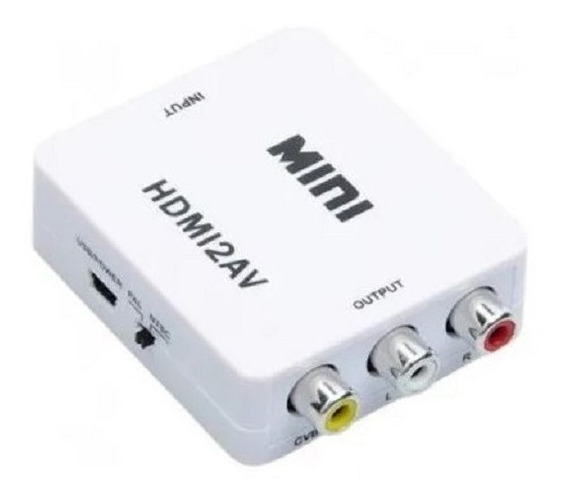 Convertidor Conversor Adaptador Hdmi + Sonido A Rca, Calidad