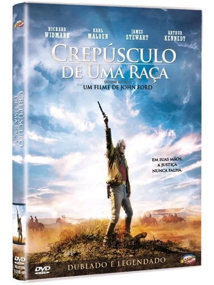 Crepúsculo De Uma Raça - Dvd - Richard Widmark - Novo