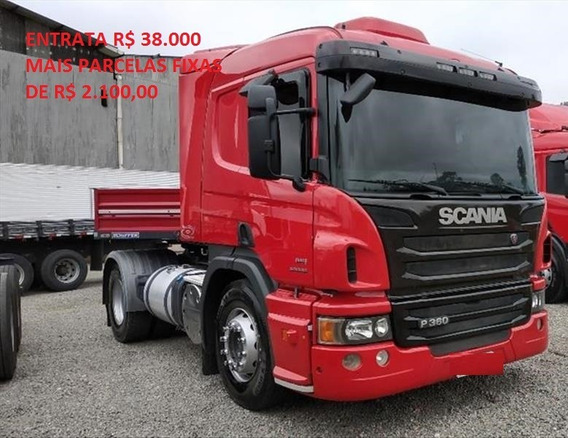 Scania P360 Com Carreta