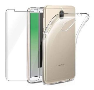 Carcasa Gel Silicona Huawei Mate 10 Lite + Lamina