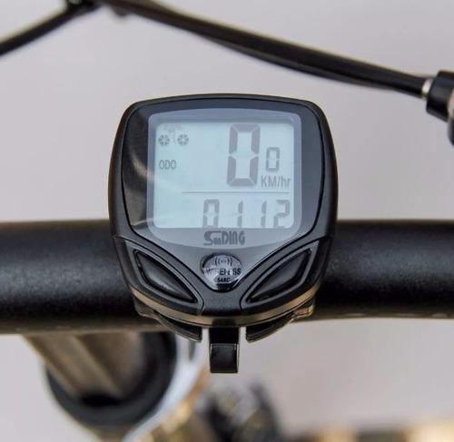f8eb3b331 Velocimetro Bike Wireless Ciclocomputador Bicicleta Sem Fio - R$ 36,95 em Mercado  Livre