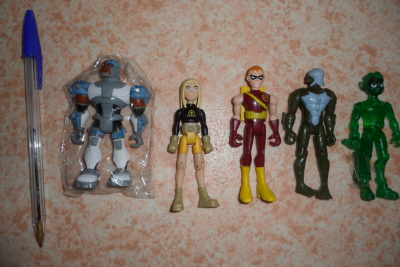 Teen Titans Terra Robin Beastboy Ricardito Cyborg