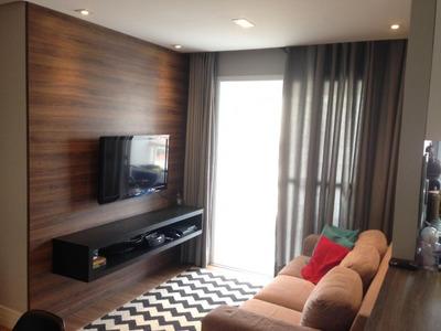Apartamento Em Tatuapé, São Paulo/sp De 60m² 1 Quartos À Venda Por R$ 440.000,00 - Ap201569