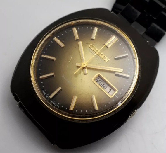 Relógio Citizen Automático Caixa Preta