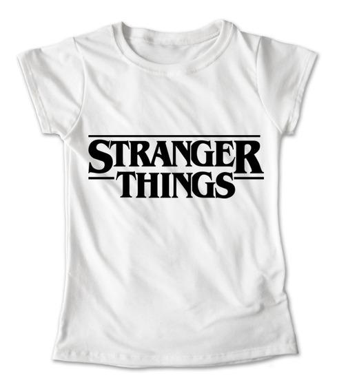 Blusa Stranger Things Colores Playera Estampado Letrero #212