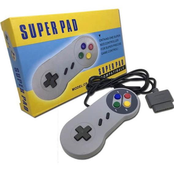 Controle Joystick Para Super Nintendo Snes Original Feir