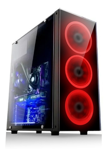 Cpu Pc Gamer I5 8gb Amd Radeon Rx 2gb Ddr5 Hd 500gb