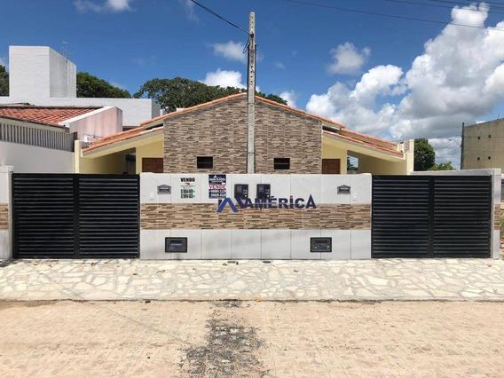 Casa Com 2 Dormitórios À Venda, 50 M² Por R$ 130.000 - Gramame - João Pessoa/pb - Ca0033