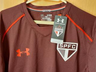 Camisa De Treino Under Armour Sao Paulo Tamanho Xg Nova.