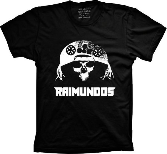 Camiseta Raimundos Tams. Plus Size G1 G2 G3 G4