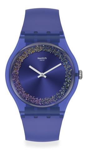 Reloj Swatch Purple Rings Suov106 - 41 Mm - Mujer Hro