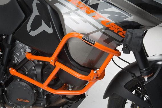 Ktm 1290 Super Adventure R Defensa Alta Naranja Sw Motech