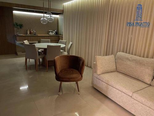 Apartamento Com 2 Dormitórios À Venda, 90 M² Por R$ 740.000,00 - Jardim America - Paulínia/sp - Ap1048