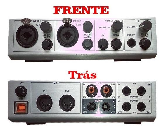 Interface Komplete Áudio 6 + Fone Akg 414p Pra Vender Logo!