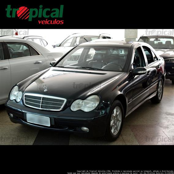 Mercedes-benz C 180 1.8 16v Gasolina 4p Automático
