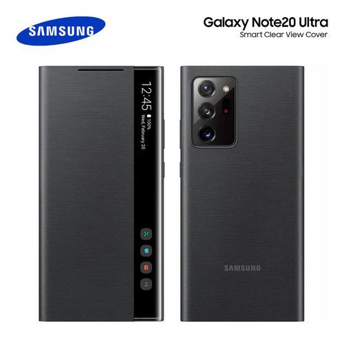 Funda Case Galaxy Note 20 Ultra S-view Flip Cover Original