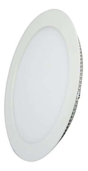Luminária Plafon Led 12w Embutir Redondo Branco Frio S/juros