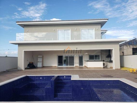 Casa Com 4 Dormitórios À Venda, 532 M² Por R$ 2.100.000,00 - Jardim Emicol - Itu/sp - Ca0357