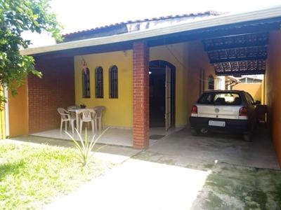 Ótima Casa Lado Praia Com 2 Quartos E 5 Vagas Em Itanhaém!