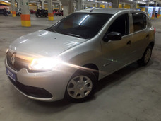 Renault Sandero 1.0 12v Authentique 500 Entrada + 999 Mes
