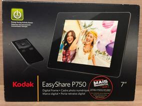Porta Retrato Digital Kodak Easyshare P750 7 Polegadas