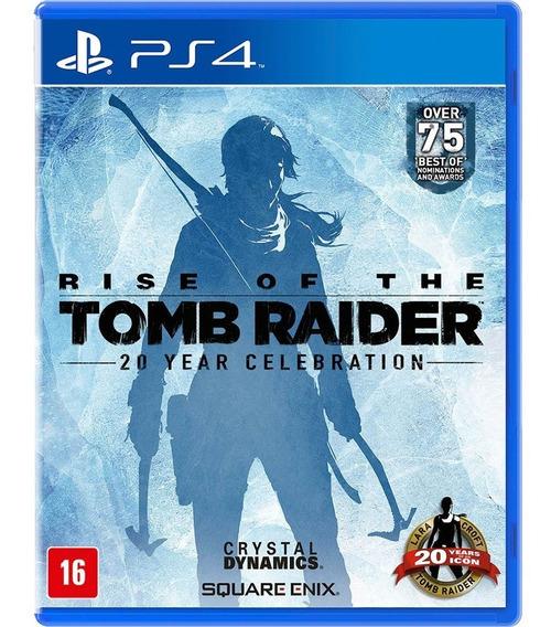 Rise Of The Tomb Raider Ps4 1 Português Envia Hoje