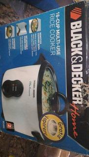 Olla Arrocera Black Decker 16 Cup Multiuso Rice Cooker