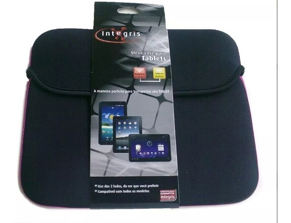 Capa Sleve Case Integris Tablets 10 - Envio Imediato