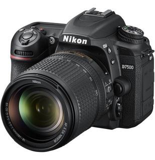 Camara Nikon D7500 Con Lente 70-300mm, Reflex Profesional