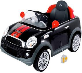 Mini Cooper Veículo Carro Elétrico 2x1 Infantil Kiddo 7003pr