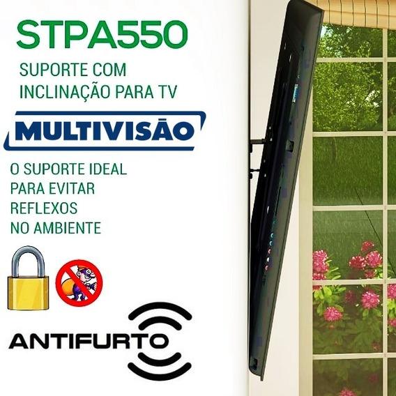 Suporte Multivisão Anti Reflexo C/ Trava Anti Furto Stpa550