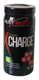 Pré Treino X-charger Concentrado Limão 702gr Nutrihealth