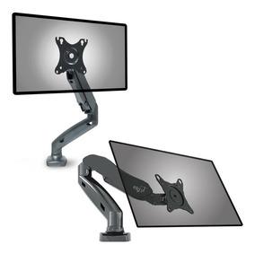 Suporte Articulado Para Tv Monitor De Mesa A Gás Vesa F80n