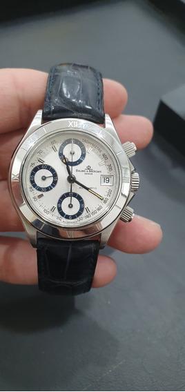 Relógio Suíço Baume Et Mercier Malibu Original Eta7750