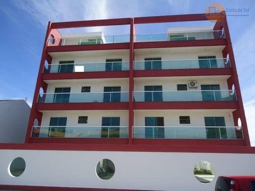 Cobertura Com 3 Dormitórios À Venda, 110 M² Por R$ 465.500,00 - Recreio - Rio Das Ostras/rj - Co0020