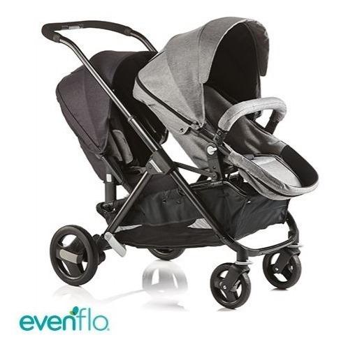 Cochecitos Evenflo Sync 2 Doble Para Bebes Mellizos Hermanos