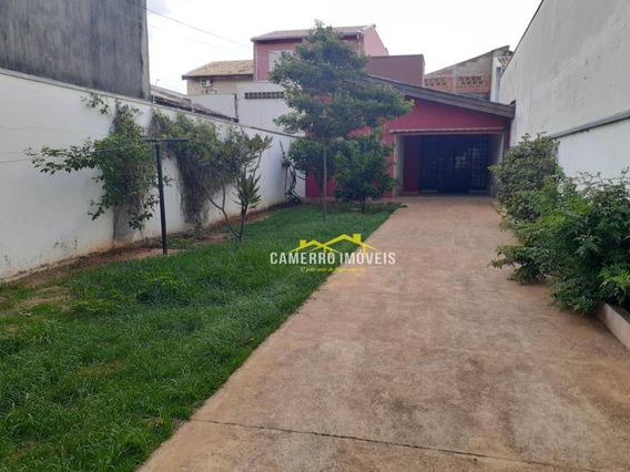 Casa Com 1 Dormitórios Para Alugar, 85 M² Por R$ 1.200/mês - Parque Novo Mundo - Americana/sp - Ca2246