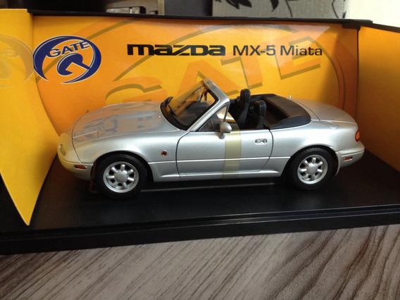 Mazda Mx5 1/18 Gate Lacrado Na Caixa