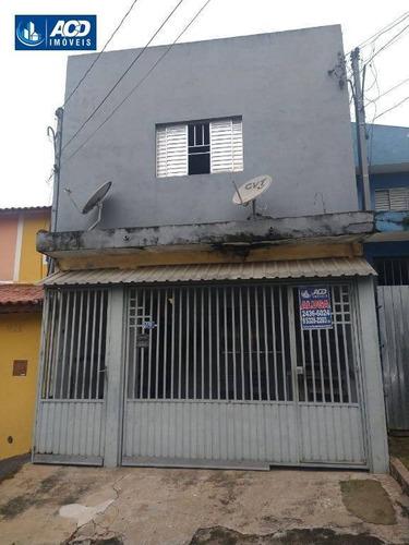 Sobrado Com 2 Dormitórios Para Alugar Por R$ 1.200,00/mês - Vila Carmela I - Guarulhos/sp - So0174